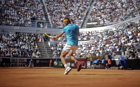 Rafael Nadal Rooma tenniseturniiril