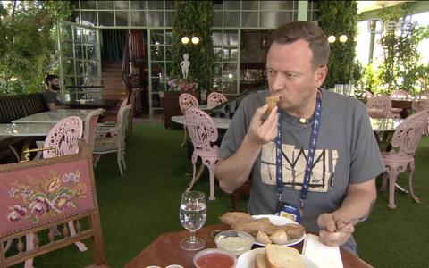 Marko Reikop proovis Iisraeli kohalikku toitu.