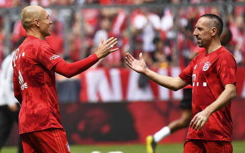 Arjen Robben ja Franck Ribery