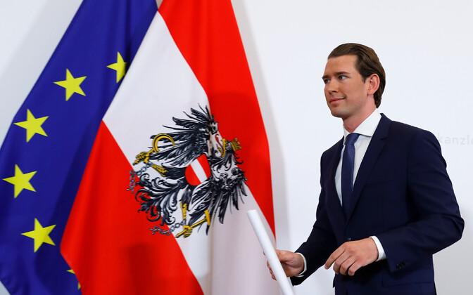Канцлер Австрии Себастьян Курц.
