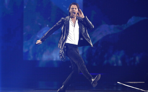 Eurovisiooni finaal, Eesti esindaja Victor Crone