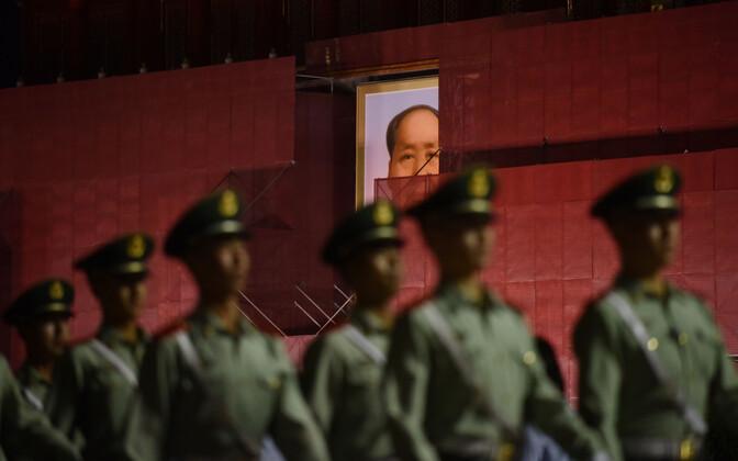 Tiananmeni väljak Pekingis.