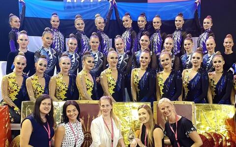 Eesti rühmvõimlejad MM-il