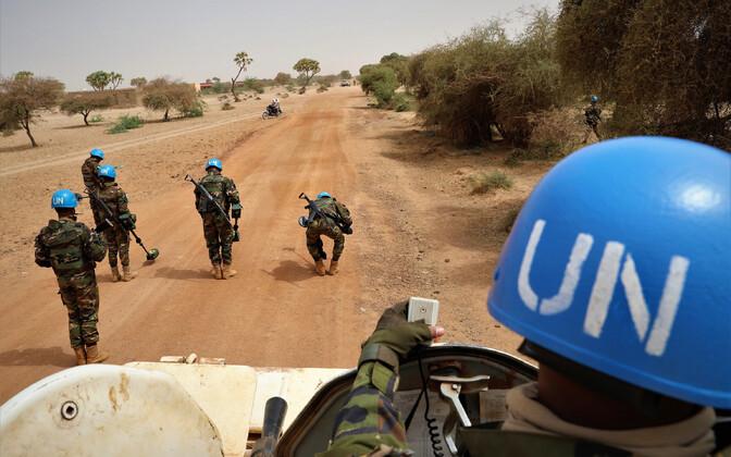 ÜRO rahuvalvajad Malis, arhiivifoto.