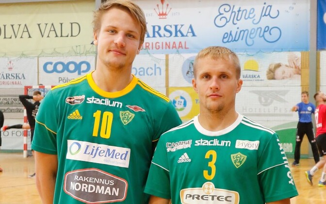Soome meistrivõistluste värsked pronksivõitjad Sten Maasalu (vasakul) ja Ott Varik.