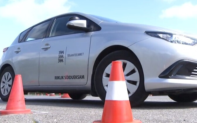 Road Administration's vehicle for category B driving test