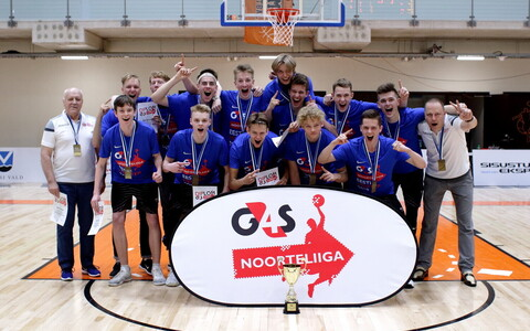 U-18 vanuseklassis tuli Eesti meistriks TTÜ KK/TSK/Valge