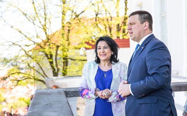 Президент Грузии Саломе Зурабишвили посетила Эстонию с двудневным визитом.
