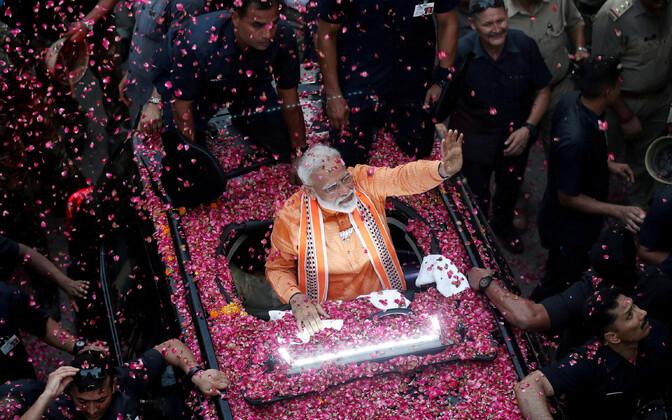 India peaminister Narendra Modi kampaaniat tegemas.