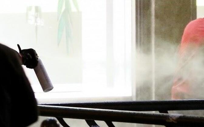 Перцовый газ. Фото иллюстративное.