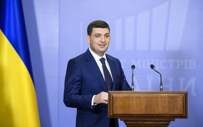 Ukraina peaminister Volodõmõr Groisman.