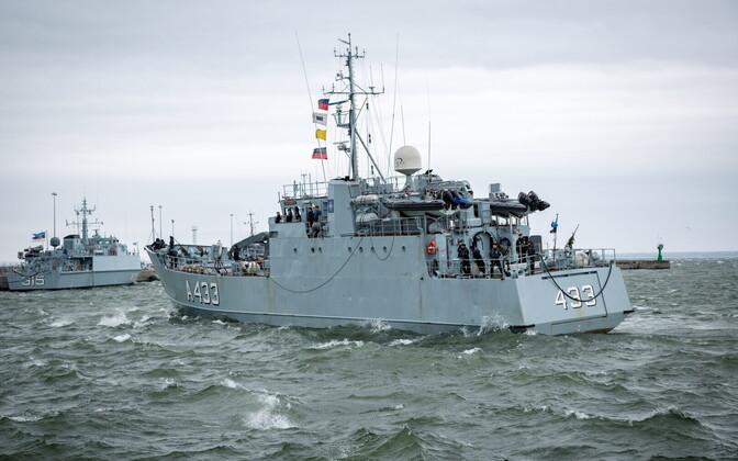 Kaitseväe staabi- ja toetuslaev Wambola.