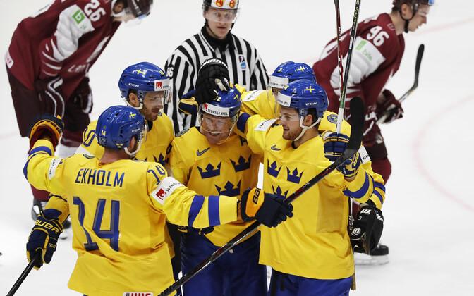 Rootsi - Läti jäähoki MM-il