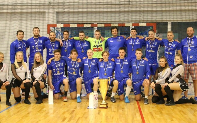 Eesti käsipallimeistrivõistluste pronksmedalist HC Kehra/Horizon Pulp&Paper