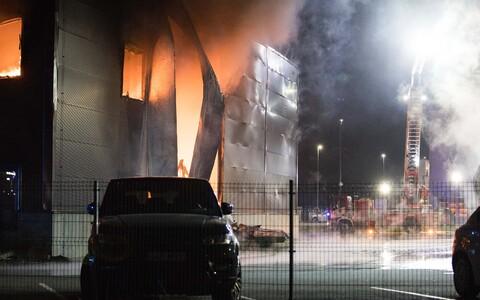 Пожар в Пеэтри.