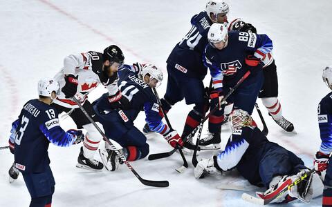 USA ja Kanada olid mullusel MM-il kahel korral vastamisi.