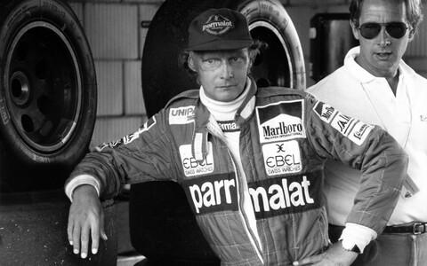 Niki Lauda 1983. aastal.