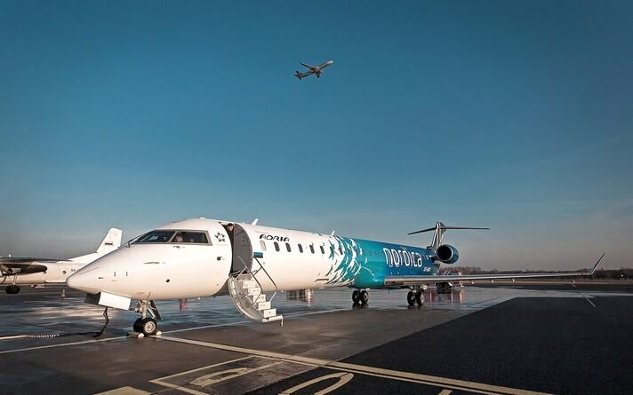 Самолет Nordica.