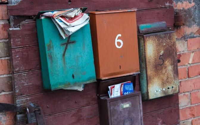 Postkastid.