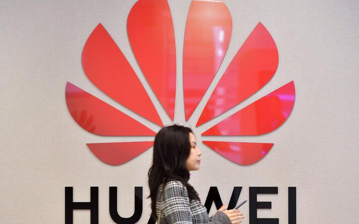 Huawei logo.
