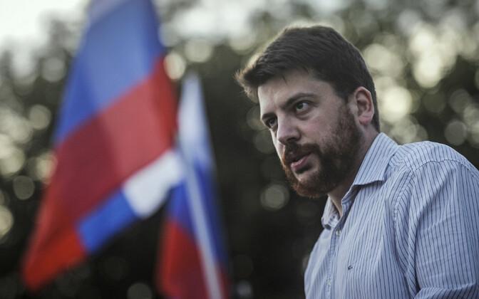 Vene opositsioonipoliitik Leonid Volkov.