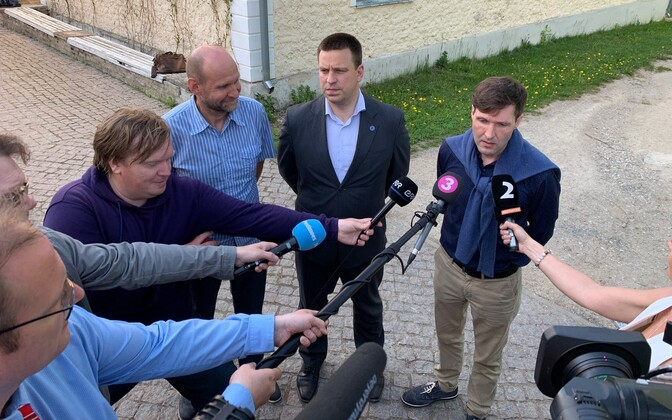 The Estonian government dedicated two days at Vihula Manor to discussing the state budget strategy.