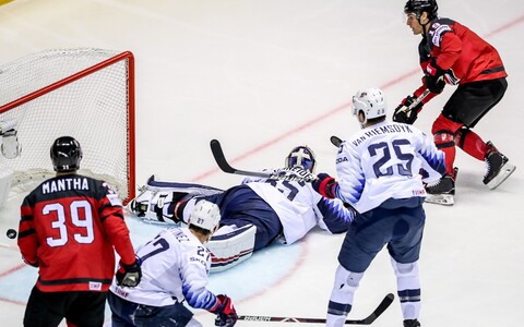 Kanada - USA jäähoki MM-il
