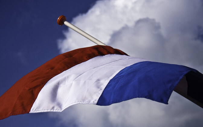 Флаг Нидерландов.