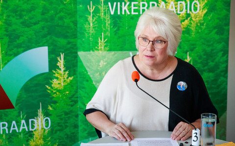 Marina Kaljurand (SDE) remains the most popular candidate.