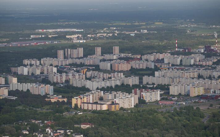 Район Ласнамяэ в Таллинне.