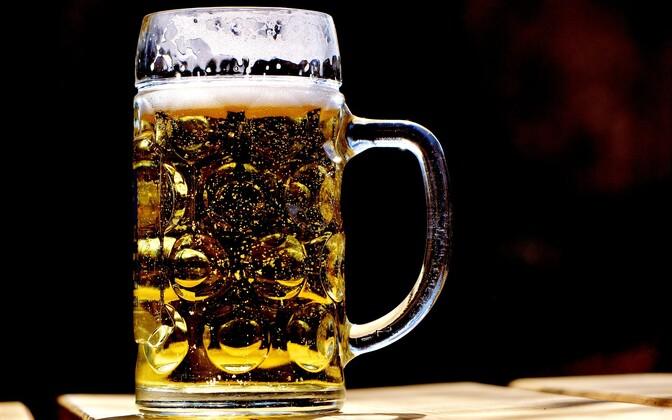 Пиво. Иллюстративная фотография.