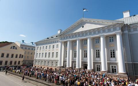 Главное здание Тартуского университета.