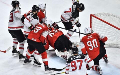Kanada - Šveits 2018. aasta jäähoki MM-il