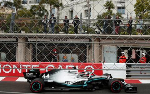 Lewis Hamilton Monte Carlo ringrajal