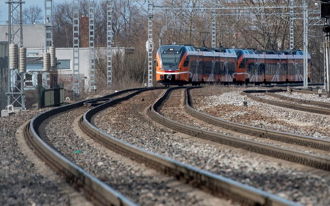 Elron train.