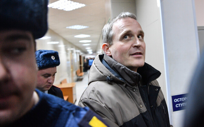 Dennis Christensen veebruaris Orjoli kohtuhoones.