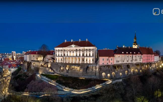 Soome kunstnikud tegid Tallinna vanalinnale uue valguslahenduse.