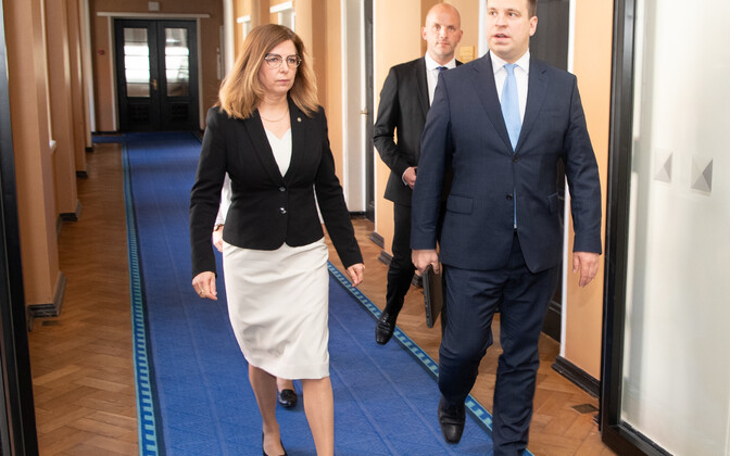 Prime Minister Jüri Ratas (right) will stand in for IT minister Kert Kingo (left) at the G20 meeting.