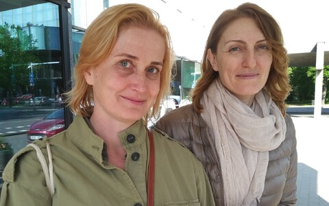 Narine Abgarjan ja Ilona Martson.