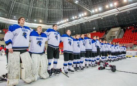 Юношеская (U-18) сборная Эстонии по хоккею.