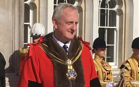 Lord Mayor of London Peter Estlin.