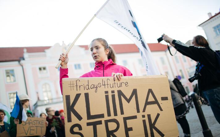 Kliimameeleavaldus Toompeal