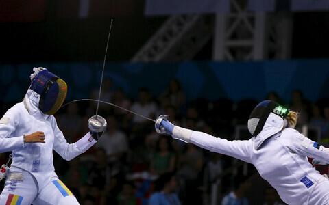 Eelmistel Euroopa mängudel Bakuus võitis Erika Kirpu (paremal) pronksmedali