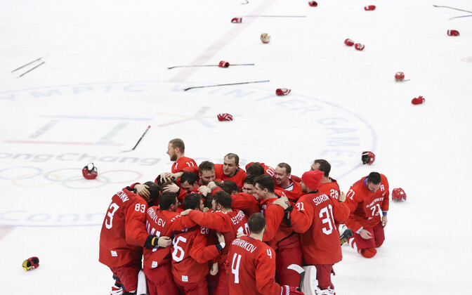 2018. aasta mängud võitnud koondis Olümpiasportlased Venemaalt