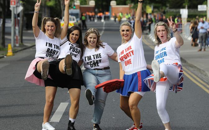 Spice Girlsi comebackile kogunenud fännid