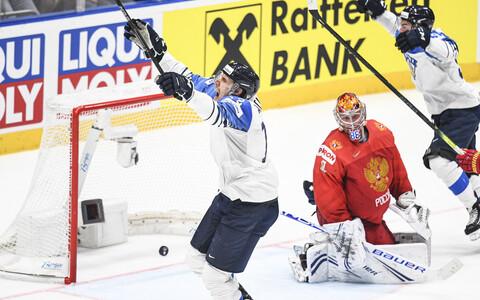Soome koondise kapteni Marko Anttila värav viis Soome finaali