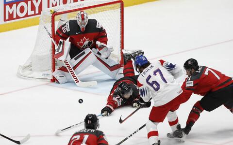 MM-i poolfinaalis kohtusid Tšehhi ja Kanada jäähokikoondised