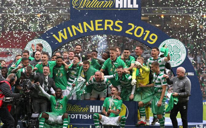 Võidukas Glasgow Celtic