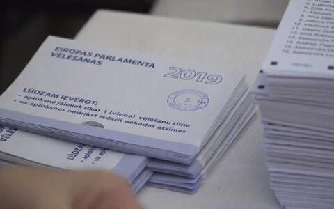 Läti europarlamendi valimised.