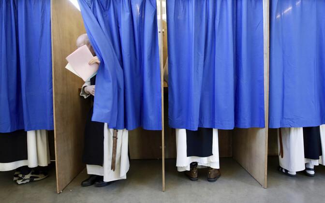 Belgia mungad hääletamas.